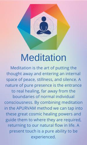 Meditation - 6 Elements of APURVAM